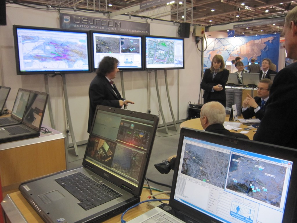 Demonstration of IA-CGF on Haiti Scenario at ITEC2010 in Joint Cooperation with USJFCOM
