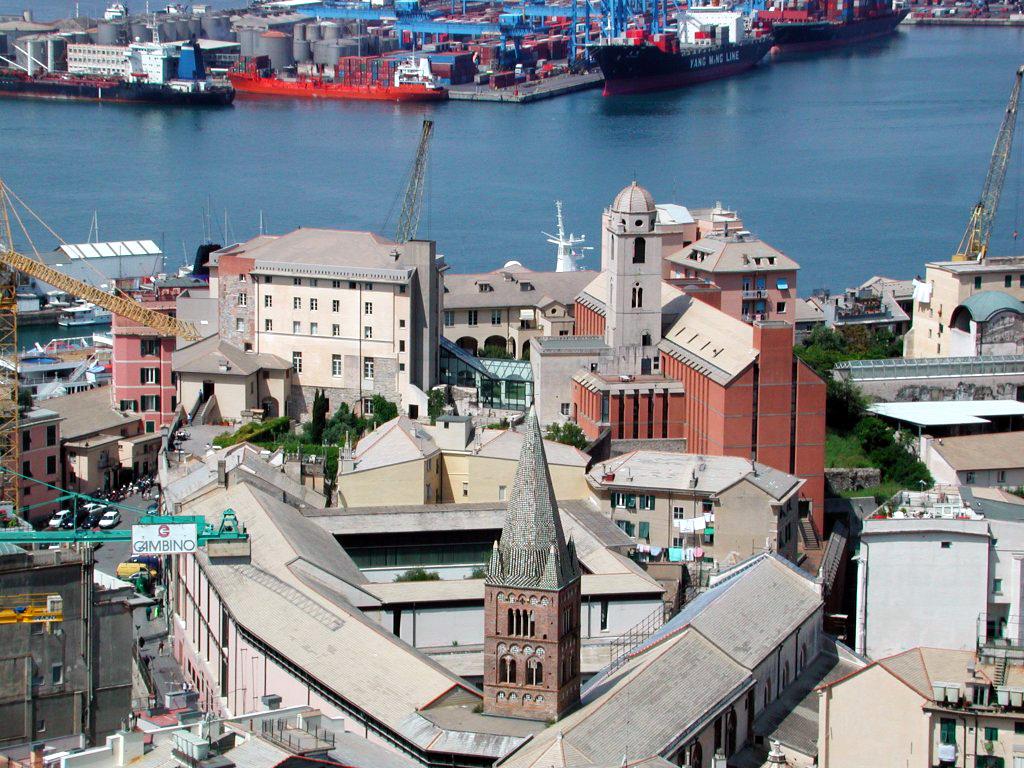 Architecure Complex Of Genoa University Site For Summersim