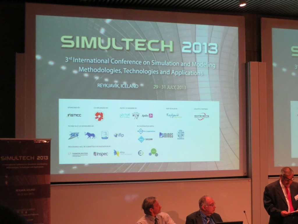 SimulTech was Scientifically co-sponsored by Simulation Team